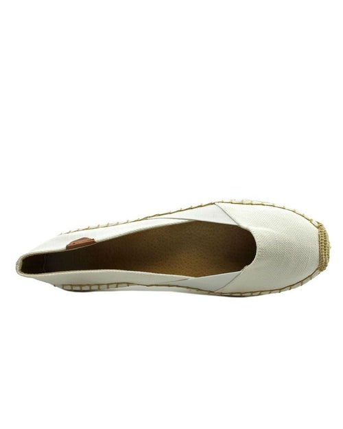 Sperry Espadrille Katama Cape Ivory Canvas Flats