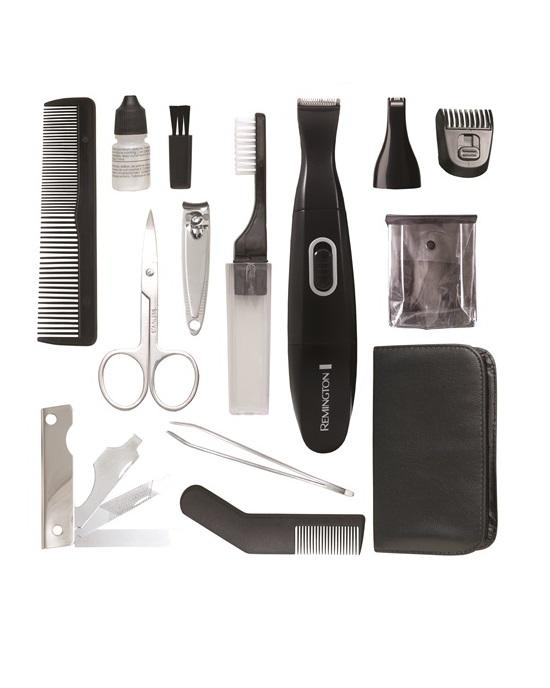 Remington TLG100ACDN 15-piece Travel Personal Grooming Kit