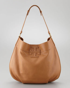 "Tory Burch Stacked ""T"" Hobo-TORY BURCH-Fashionbarn shop"