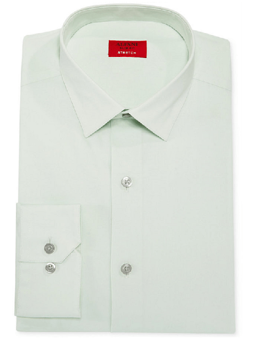 Alfani Spectrum Slim-Fit Solid Dress Shirt-ALFANI-Fashionbarn shop