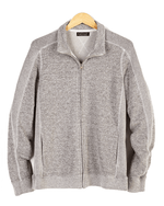 Velvet by Graham & Spencer Full-Zip Fleece Jacket, Gray-VELVET BY GRAHAM & SPENCER-Fashionbarn shop