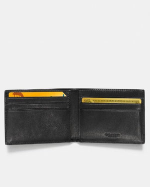 COACH Men's Varsity Stripe Slim Leather Wallet