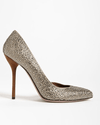 Gucci Gray Noah Evening Dorsay Pump