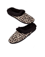 Charter Club Microvelour Closed Memory Foam Slipper Taupe - Fashionbarn shop - 2