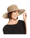Nine West Packable Floppy Hat Brown Combo-NINE WEST-Fashionbarn shop