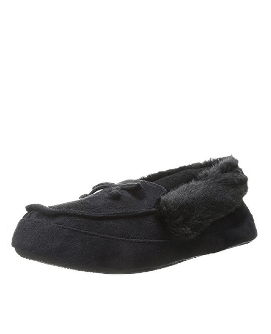 Isotoner Signature Woodlands Microsuede Tundra Mo Slippers - Fashionbarn shop - 1