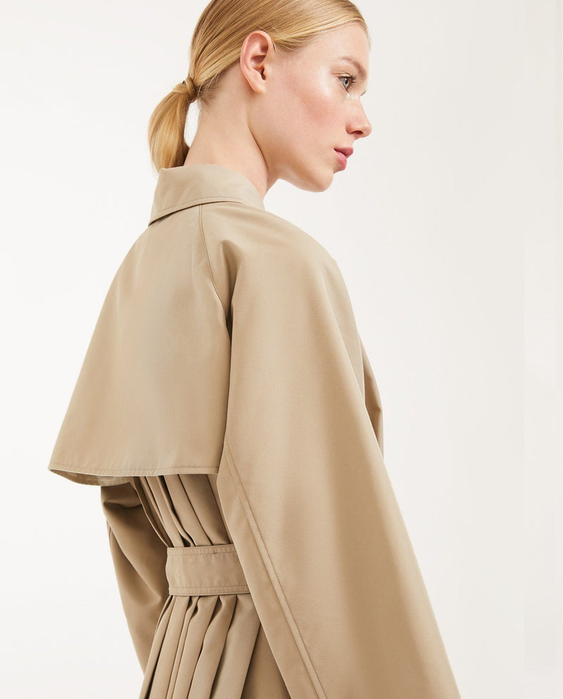 Max Mara Weekend Cotton Gabardine Raincoat