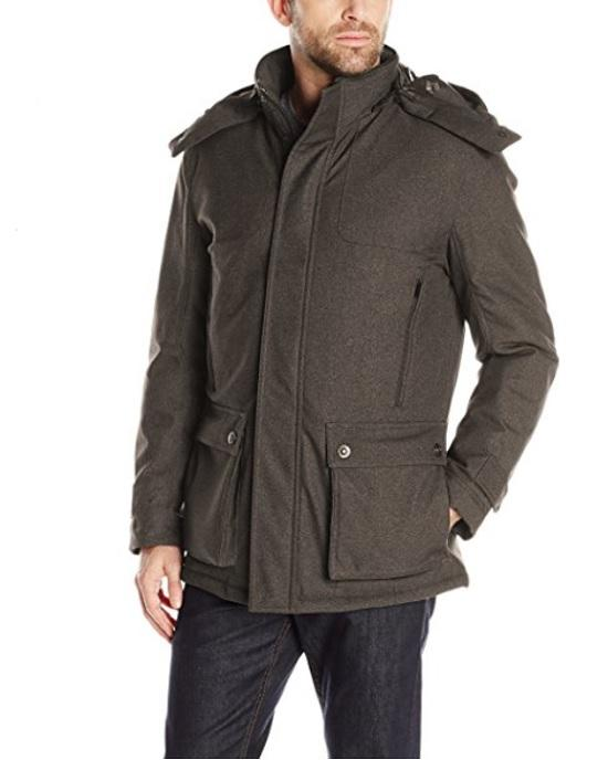 RAINFOREST Men's Parka with Removable Hood - Fashionbarn shop