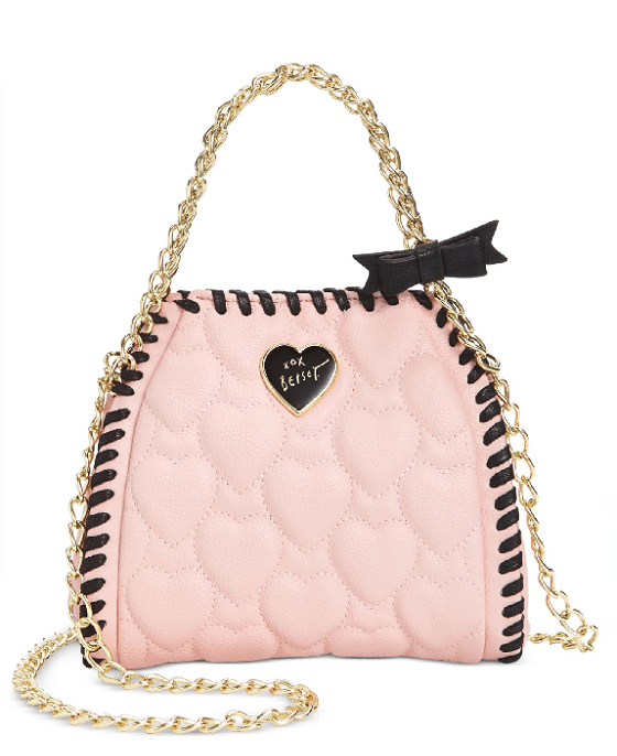 Betsey Johnson Mini Quilted Chain Handbag - Fashionbarn shop - 2