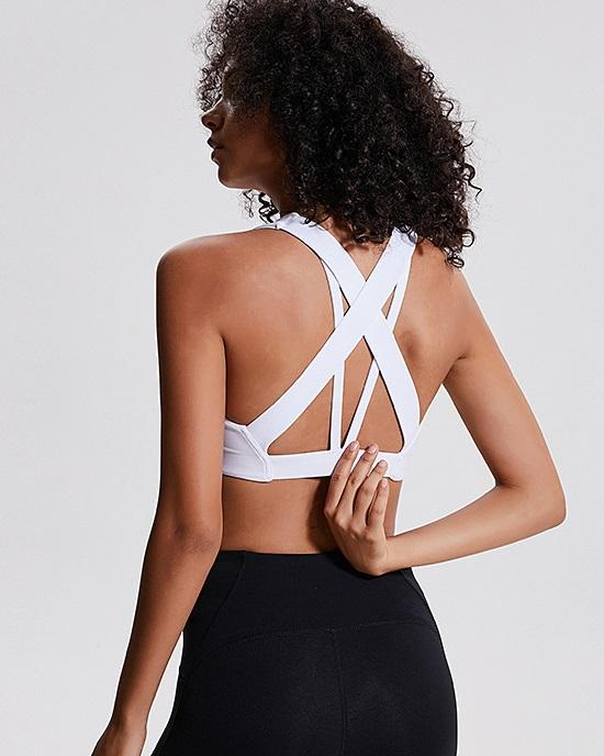 Women's Stretch Strappy Running Top