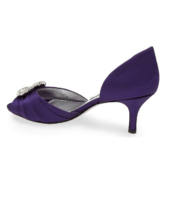 Nina 'Crystah' Embellished Satin Pump - Fashionbarn shop - 2