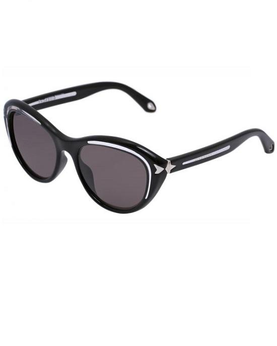 Givenchy Sgv 931 Retro Cat Eye Sunglasses