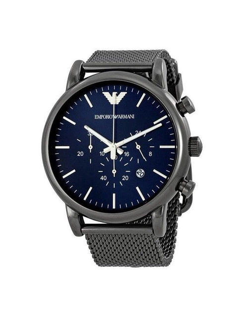 Emporio Armani Men's Chronograph Gunmetal Dress Watch AR1979