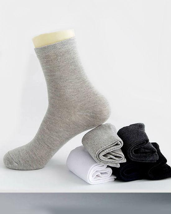 Socks Teams Men's 5-Pack Cotton Casual Crew Socks