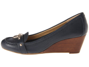 Tommy Hilfiger Kree Leather Casual Wedge Comfort-TOMMY HILFIGER-Fashionbarn shop