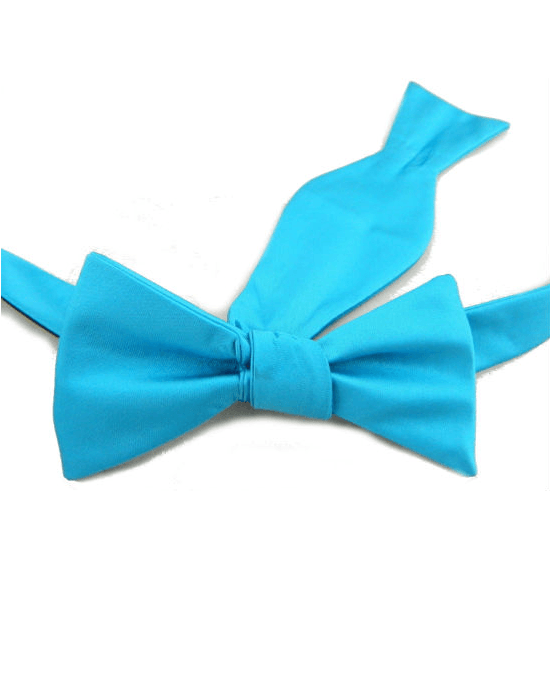 Countess Mara Blue Polyester Mens Adjustable Bow Tie-COUNTESS MARA-Fashionbarn shop
