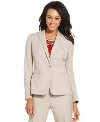Kasper Jacket, Single Button Blazer-KASPER-Fashionbarn shop