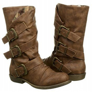 Blowfish Alms Mid Shaft Booties-BLOWFISH-Fashionbarn shop