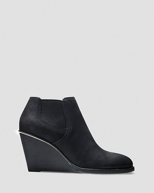 Cole Haan Wedge Booties - Balthasar Gored-COLE HAAN-Fashionbarn shop