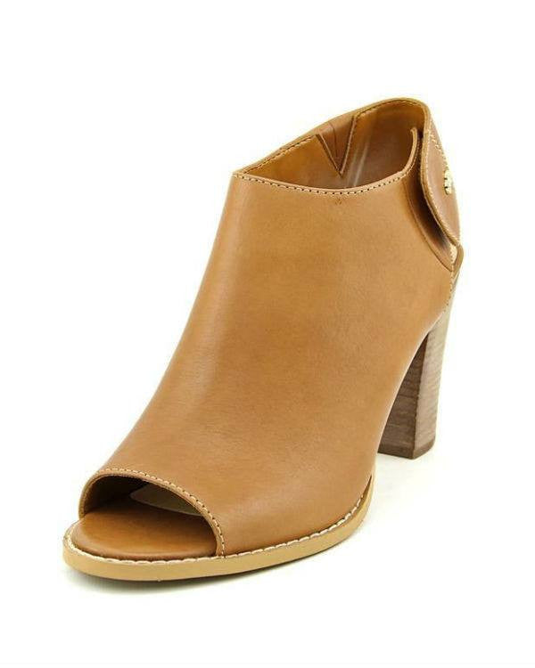 Cole Haan Wrey OT.Sling.BTE Peep Toe Leather Booties-COLE-HAAN-Fashionbarn shop