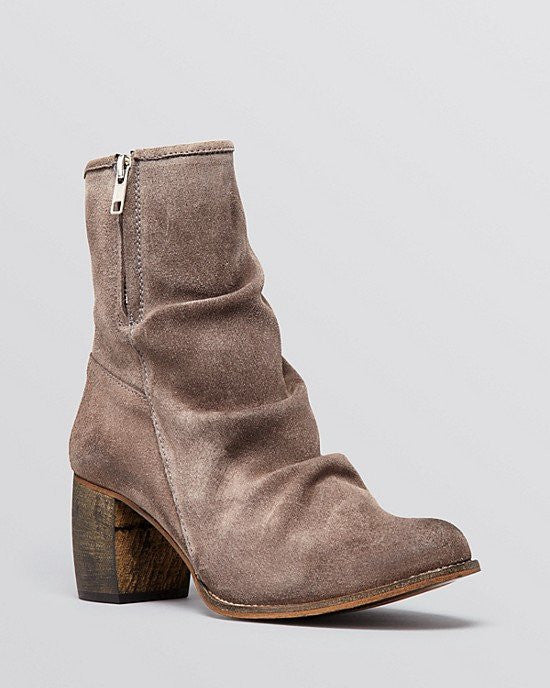 Jeffrey Campbell Ankle Booties - 2567-KI Slouchy Mid Heel-JEFFREY CAMPBELL-Fashionbarn shop