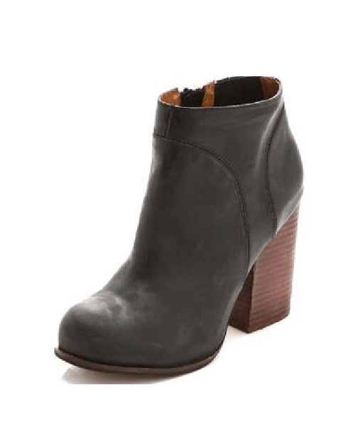 Jeffrey Campbell Hanger Leather Booties-JEFFREY CAMPBELL-Fashionbarn shop