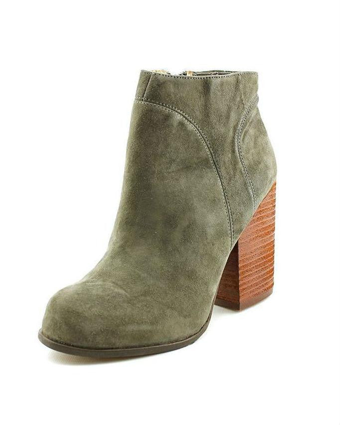 Jeffrey Campbell Hanger Suede Raw Booties-JEFFREY CAMPBELL-Fashionbarn shop