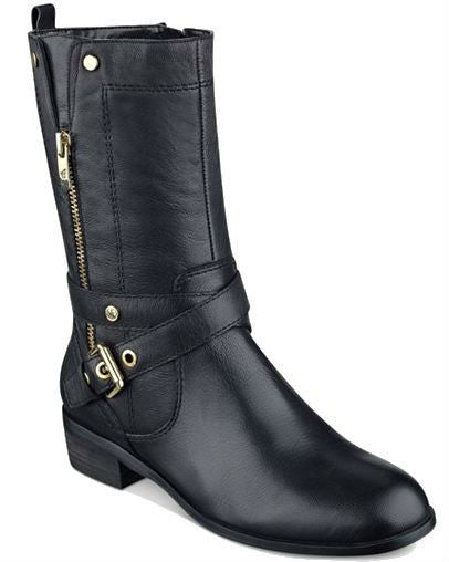 Marc Fisher Dolca Moto Boots-MARC FISHER-Fashionbarn shop