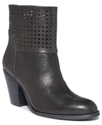 NINE WEST HIPPIE CHIC BOOTIES LATTE 5.5M-NINE WEST-Fashionbarn shop