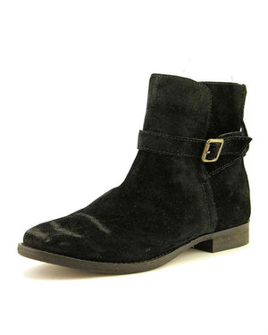 Sam Edelman Malone Distressed Suede Booties-SAM EDELMAN-Fashionbarn shop