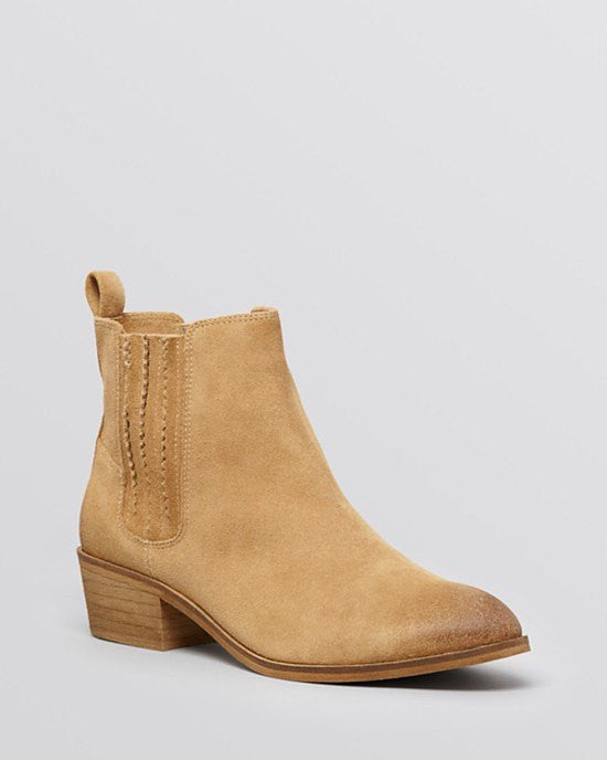 Splendid Harrison Suede Chelsea Booties-SPLENDID-Fashionbarn shop