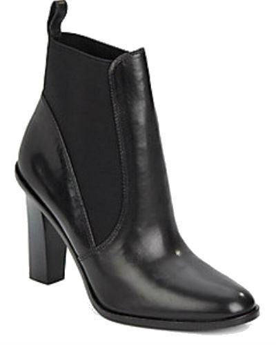 Via Spiga Maila Leather Ankle Boots-VIA SPIGA-Fashionbarn shop