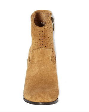 Vince Camuto Holden - Toast Suede Booties-VINCE CAMUTO-Fashionbarn shop