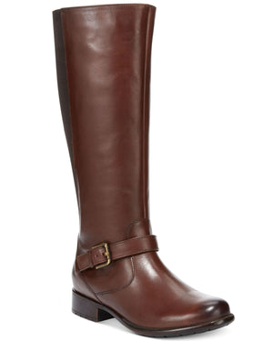 Clarks Collection Women's Plaza Pilot Riding Boots-CLARKS-Fashionbarn shop