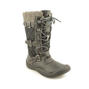 Jambu Mount Everest Womens Textile Casual Boots-JAMBU MOUNT-Fashionbarn shop