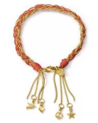 CORA GOLD WOVEN BRACELET-GOOD CHARMA INC-Fashionbarn shop