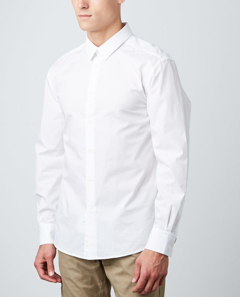 Men's Versace Collection Dress Shirt Formal White Slim Fit New