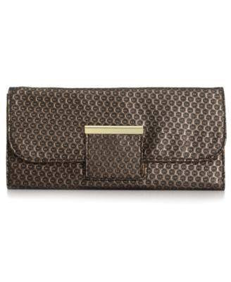 STYLE & CO RYDER EXOTIC CLUTCHES BLACK-STYLE & CO-Fashionbarn shop