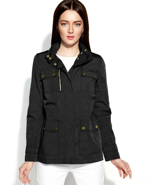 Calvin Klein Hooded Flap-Pocket Anorak-CALVIN KLEIN-Fashionbarn shop