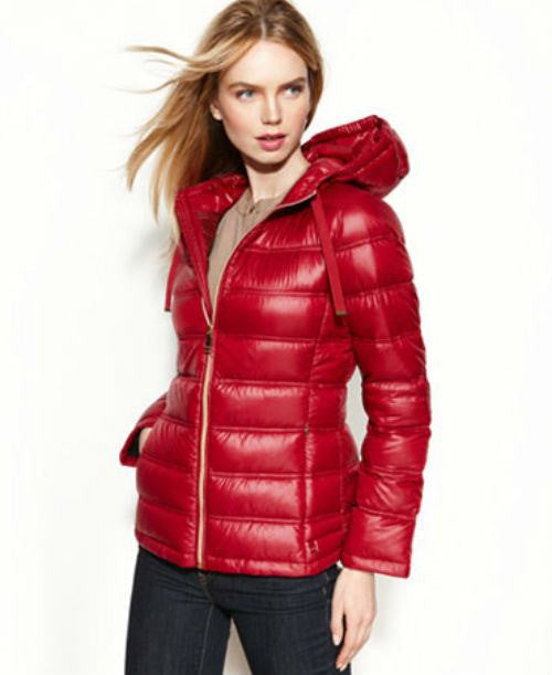 Calvin Klein Packable Hooded Quilted Puffer Coat-CALVIN KLEIN-Fashionbarn shop