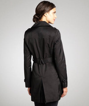 DKNY Double-Breasted Belted Trench Coat-DKNY-Fashionbarn shop