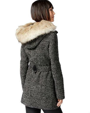 Laundry by Design Faux-Fur-Trim Utility Coat-LAUNDRY BY DESIGN-Fashionbarn shop