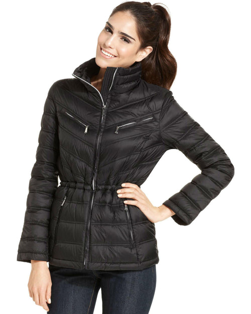 MICHAEL Michael Kors Packable Quilted Puffer Coat-MICHAEL MICHAEL KORS-Fashionbarn shop
