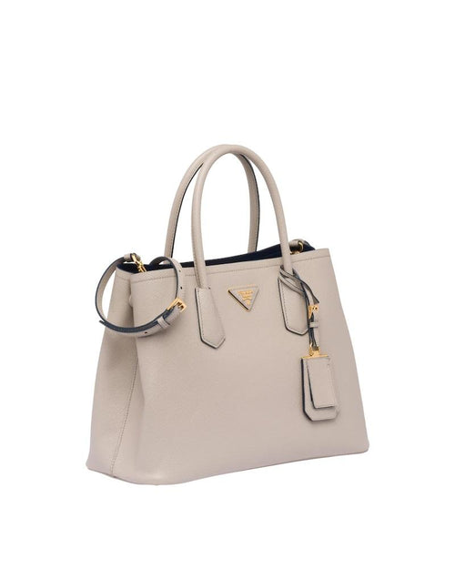 Prada Double Bag Large, Grey