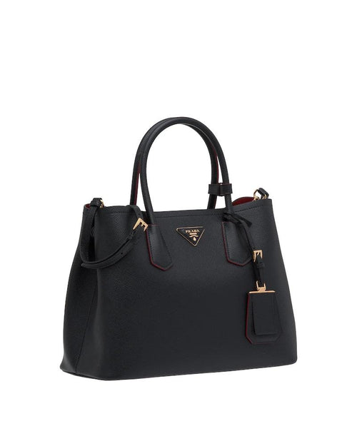 Prada Double Bag Large, Black