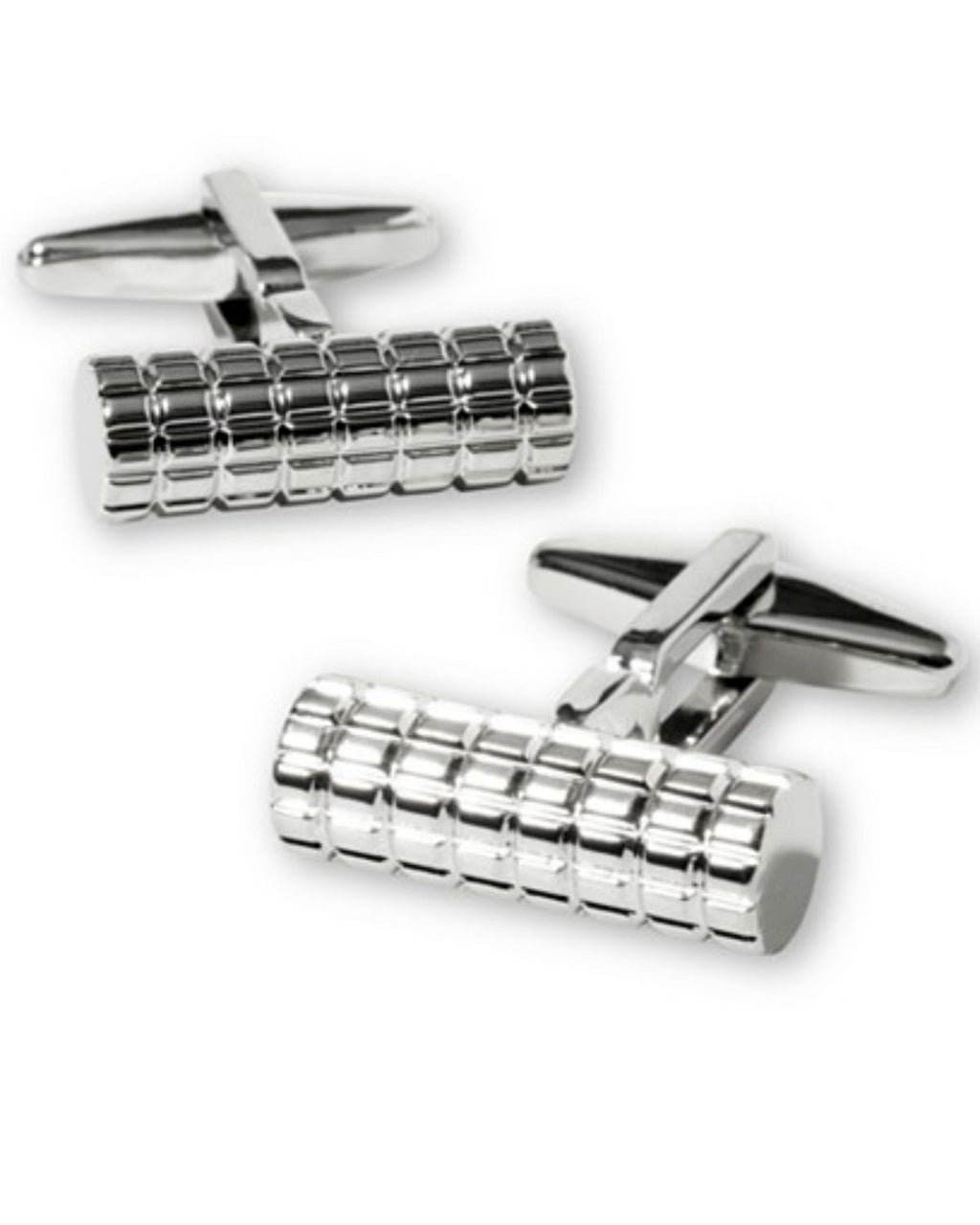 Kenneth Cole Reaction Cylinder Cufflinks-KENNETH COLE-Fashionbarn shop
