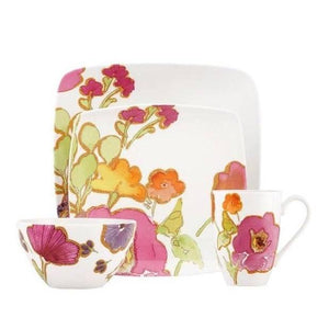Lenox Floral Fusion Square 4-Piece Place Setting