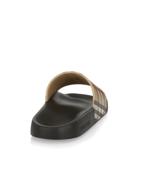 Burberry Furley Vintage Check Pool Slides