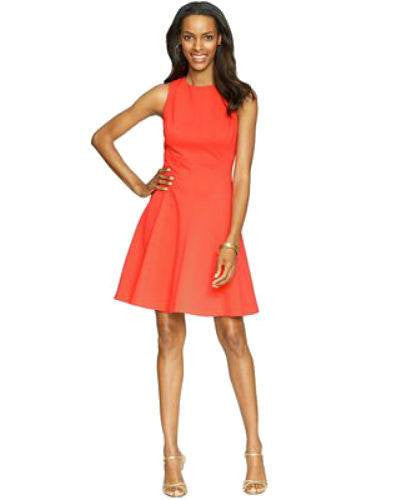 American Living Sleeveless A-Line Dress-AMERICAN LIVING-Fashionbarn shop