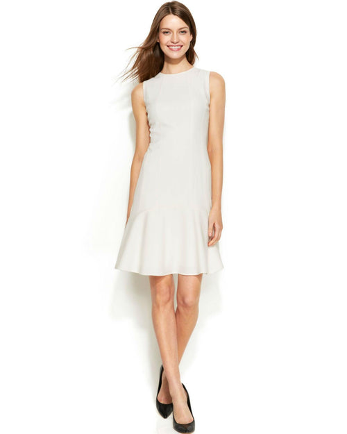 Calvin Klein Sleeveless Flip-Skirt Dress-CALVIN KLEIN-Fashionbarn shop